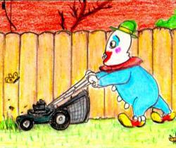 yard clown