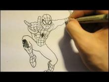 Embedded thumbnail for How To Draw The Amazing Spider Man