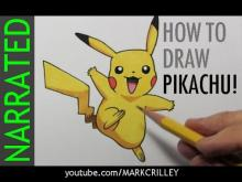 Embedded thumbnail for How to Draw Pikachu from Pokémon
