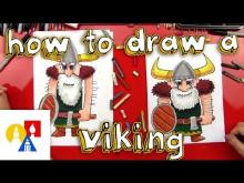 Embedded thumbnail for How To Draw A Viking