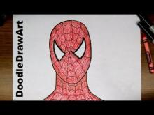 Embedded thumbnail for How To Draw Spider-man Step by Step