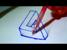 How To Draw 3d And Optical Illusions Step By Step Drawings Ideas