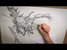 Embedded thumbnail for Monster Drawing Techniques