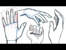 Embedded thumbnail for How to Draw HANDS and HAND POSES