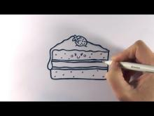 Embedded thumbnail for How to Draw a Cartoon Piece Of Cake