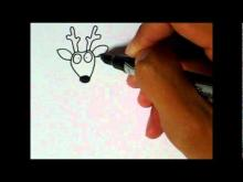 Embedded thumbnail for Simple Art Style - How to draw a Deer