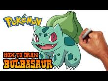 Embedded thumbnail for How to Draw Bulbasaur (Pokemon)- Step by Step