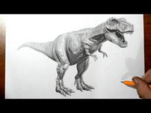 Embedded thumbnail for How to Draw a T-Rex Dinosaur
