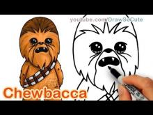 Embedded thumbnail for How to Draw Star Wars Chewbacca Cute step by step Easy