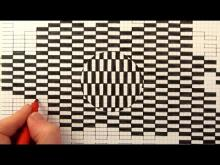 Embedded thumbnail for How to Draw a Moving Optical Illusion
