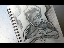 Embedded thumbnail for Warm-Up Sketch: Damian Wayne