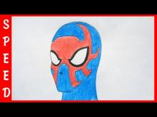 Embedded thumbnail for Speed draw Spider Man