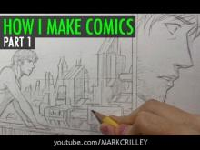 Embedded thumbnail for How I Make Comics