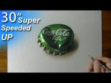 Embedded thumbnail for  Drawing a Coca-Cola Life Bottle Cap
