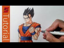 Embedded thumbnail for How to Draw Ultimate Gohan AKA Mystic Gohan