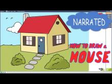 Embedded thumbnail for How to Draw a House Step by Step