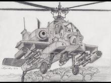 Embedded thumbnail for How to Draw an Apache Helicopter