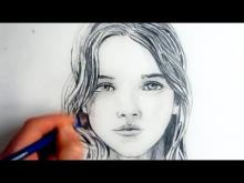 Embedded thumbnail for How To Draw A Female Face: Step By Step