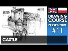 Embedded thumbnail for Drawing tutorial - Castle