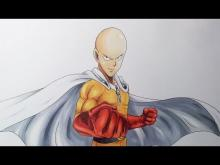 Embedded thumbnail for Drawing Saitama from OnePunch-Man