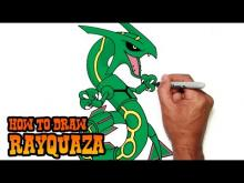 Embedded thumbnail for How to Draw Rayquaza- Pokemon