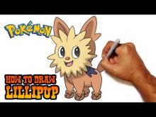 Embedded thumbnail for How to Draw Lillipup (Pokemon)- Step by Step
