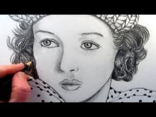 Embedded thumbnail for How to Draw a Female Face