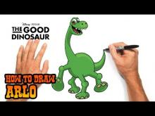 Embedded thumbnail for How to Draw Arlo (The Good Dinosaur)- Easy Art Lesson