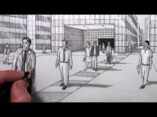 Embedded thumbnail for How to Draw People in Perspective in a City