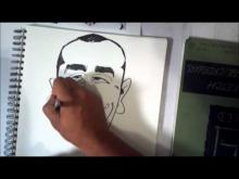Embedded thumbnail for How To Draw A Quick Caricature