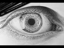 Embedded thumbnail for How I Draw a Realistic Eye