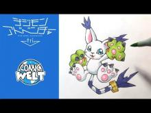 Embedded thumbnail for How to draw Gatomon
