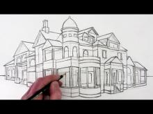 Embedded thumbnail for How to Draw a House in Two-Point Perspective