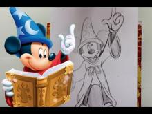 Embedded thumbnail for How to Draw SORCERER MICKEY MOUSE