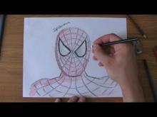 Embedded thumbnail for How To Draw Spiderman
