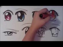 Embedded thumbnail for How to Draw Manga Eyes