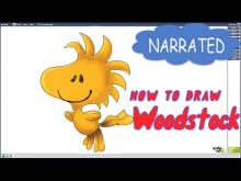 Embedded thumbnail for How to Draw Woodstock from The Peanuts Movie