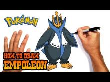 Embedded thumbnail for How to Draw Empoleon (Pokemon)