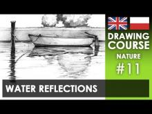 Embedded thumbnail for Drawing tutorial - Water reflections