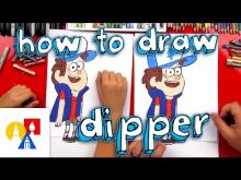 Embedded thumbnail for How To Draw Dipper From Gravity Falls