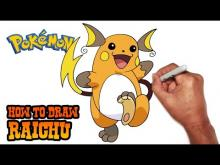 Embedded thumbnail for How to Draw Raichu (Pokemon)- Step by Step