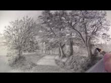 Embedded thumbnail for How to Draw with Charcoal Pencils