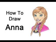 Embedded thumbnail for How to Draw Anna from Frozen