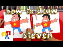 Embedded thumbnail for How To Draw Steven Universe