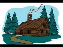 Embedded thumbnail for How to draw a log cabin
