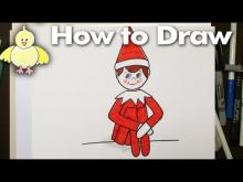 Embedded thumbnail for How to Draw an Easy Elf on a Shelf for Beginners
