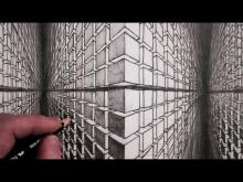 Embedded thumbnail for How to Draw a 3D Cube Optical Illusion