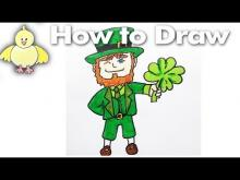 Embedded thumbnail for How To Draw a Leprechaun for Saint Patrick's Day