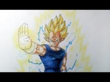 Embedded thumbnail for Drawing Majin Vegeta Super Saiyan