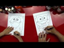 Embedded thumbnail for How To Draw Spongebob Square Pants